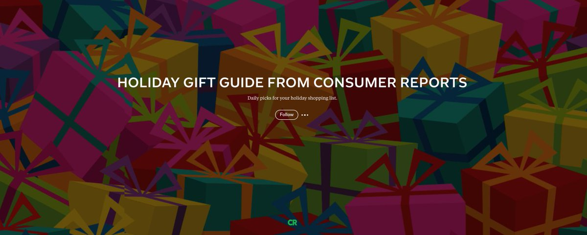 #MagsWeLove: Holiday Gift Guide from @ConsumerReports is updated daily with picks to add to your shopping list http://flip.it/-Ncz68 ...