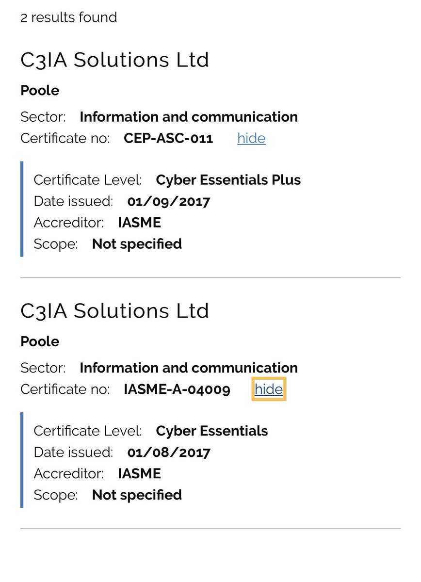 C3ia Threat Risk On Twitter Ces And Ces Certification Support