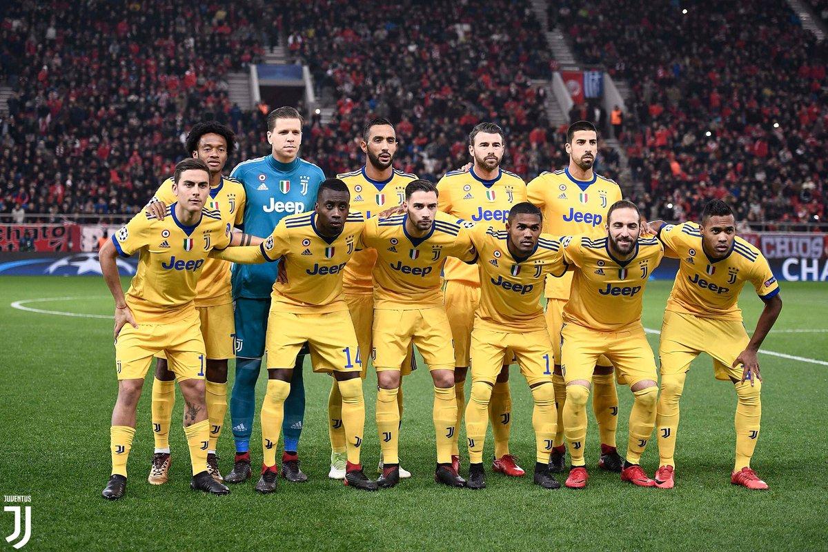 Squad Juventus kontra Olympiakos, via twitter @juventusfcen