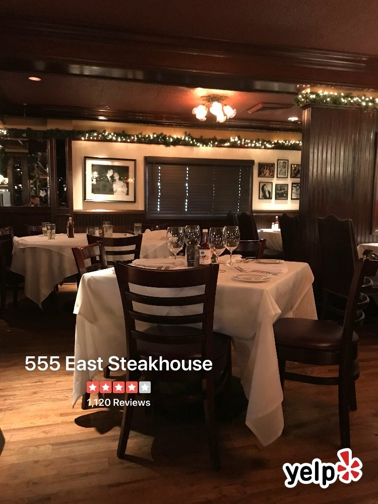 Yelfie Yelp Biz 555 East Steakhouse Long Beach 2hridjaQ4gUmveZtdU2h7uQNqpAptcheck Inreftwitterutm CampaignCheckInutm Content
