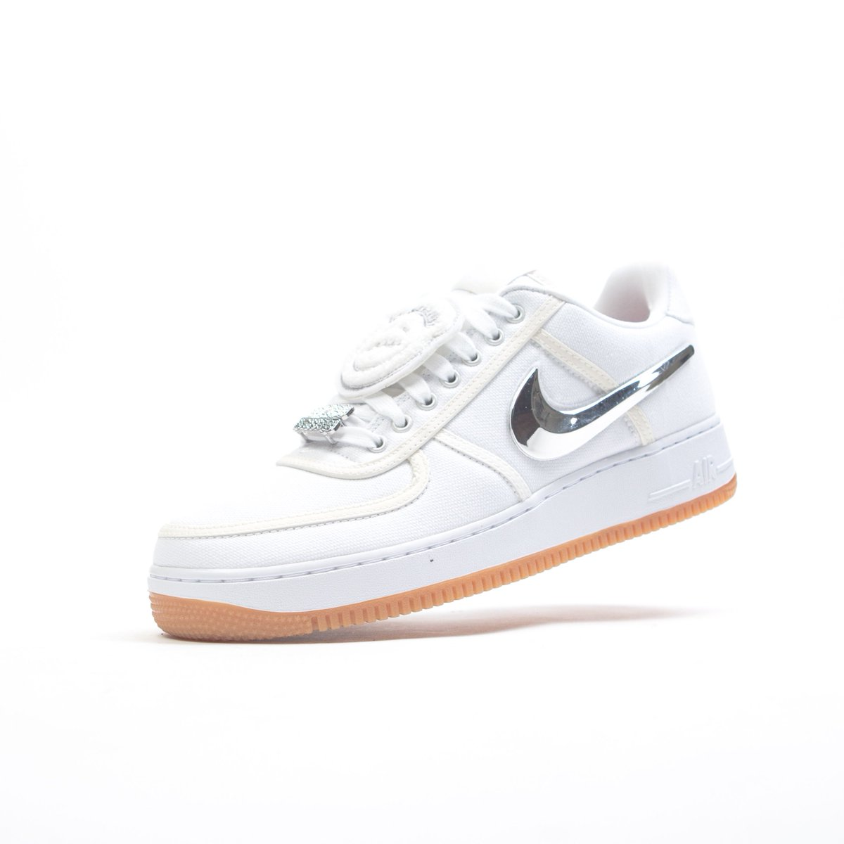 The Nike Air Force 1 Low - Travis Scott is available now in store only at  BAIT Melrose.pic.twitter.com xCZk25Rry0. 3 33 PM - 5 Dec 2017 10c25f07c