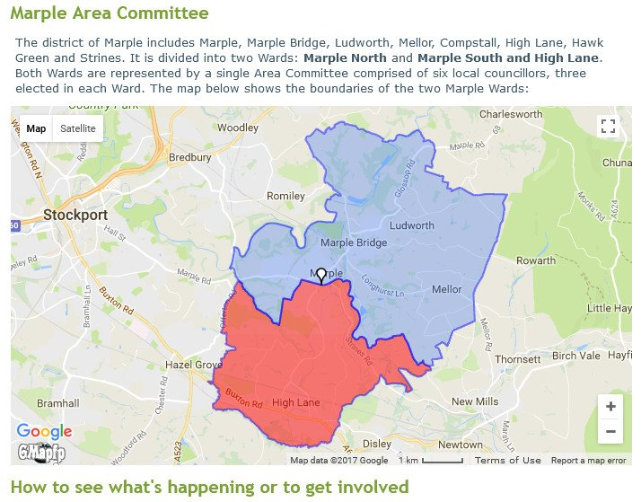 Marple Area Committee