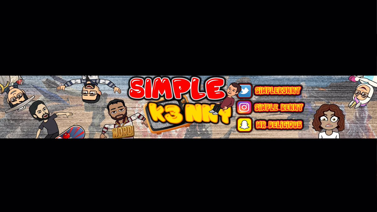 kenny on twitter hope u guys love the channel art special thanks