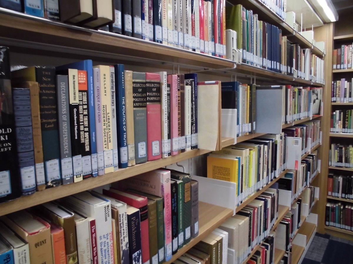 """名古屋大学GRL on Twitter: """"「変わった図書館だなー」。そんな感じでGRLをちらっと見学されていかれる方がたくさんいらっしゃいます。もちろんGRLではそういったご利用の仕方も大歓迎です!……でも、ついでに水田珠枝文庫もご覧になりませんか?日本におけるフェミニズム研究の碩学、水田珠枝先生の足跡を書棚から見られますよ。… https://t.co/sCYCCZWgE0"""""""