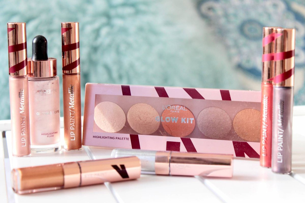 WOW! @LOrealParisUK have brought the glow with this collection: http://www.dippywrites.com/2017/11/wow-loreal-bringing-glow-merry-metals-collection.html… #BBloggers #FBLChat @fashbeautylife