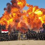 イラクの新しい対テロ部隊訓練コースの卒業式典らしいんですが、たぶん今まで撮られた中で最高の卒業写真だ…