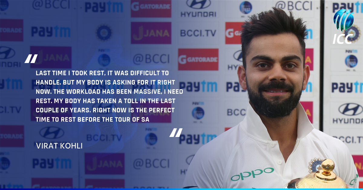 Virat Kohli's 2017 is over! How much will India miss him in the ODI and T20I series? #INDvSL