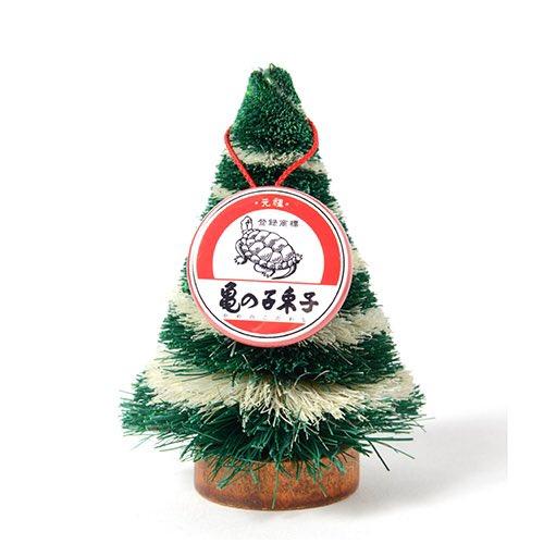 亀の子束子の110周年記念でこっそりクリスマスツリーが限定発売です。