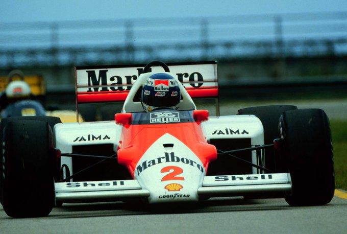 Wishing a very Happy Birthday to former McLaren man Keke Rosberg, born in 1948.