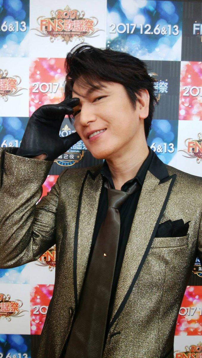 ただいま『FNS歌謡祭 第1夜』フジテレビ系列で生放送中!! この後、及川光博さんが歌います!  #…