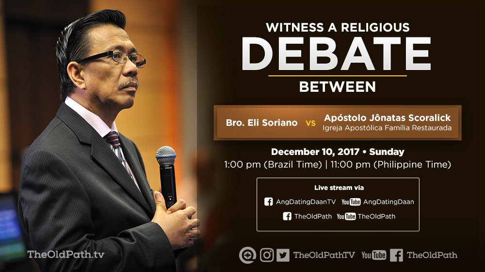 Ang dating daan youtube debata