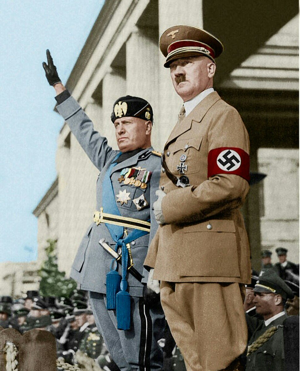 hitler and mussolini similairites and differences Stalin and hitler: differences and similarities hitler and stalin: differences and similarities hitler and stalin - when the evil in a human becomes political.