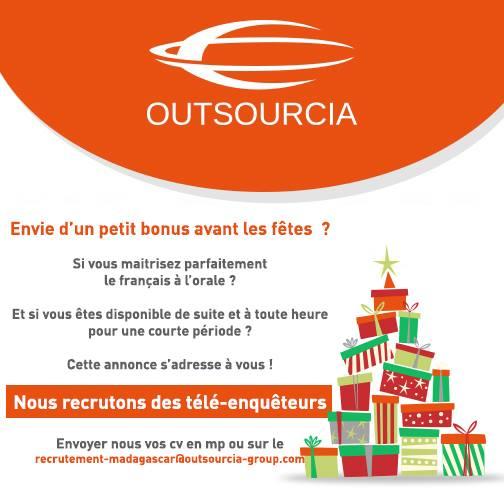 Outsourcia On Twitter Outsourcia Madagascar Recrute
