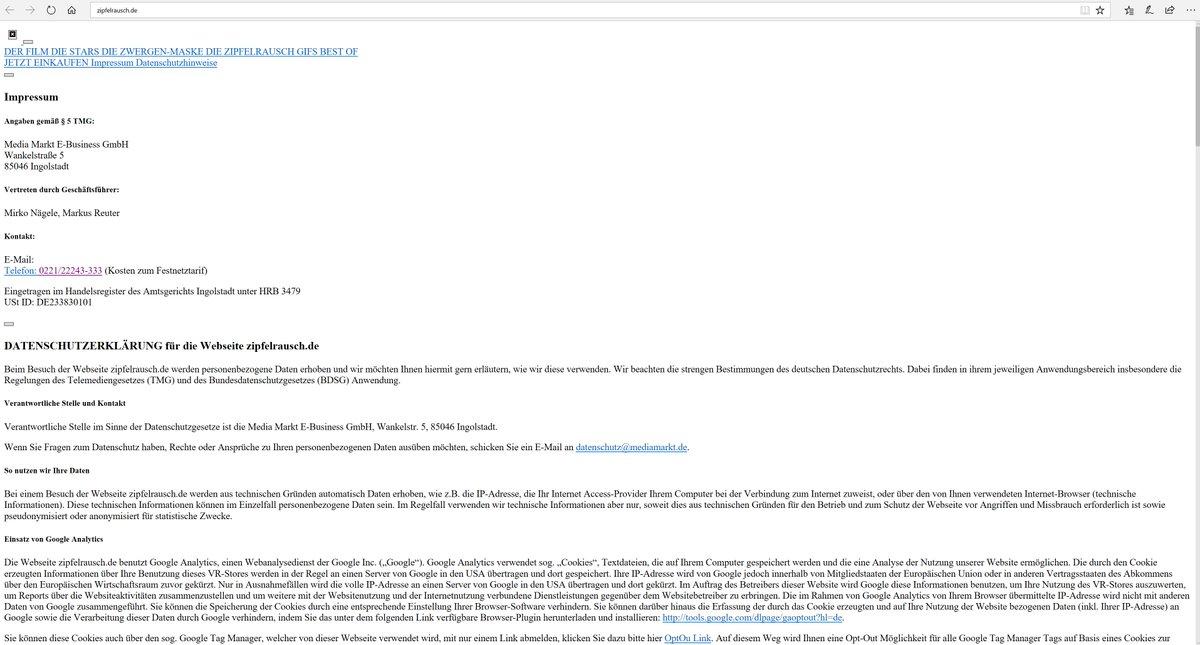 Daten-Websites für Zwerge