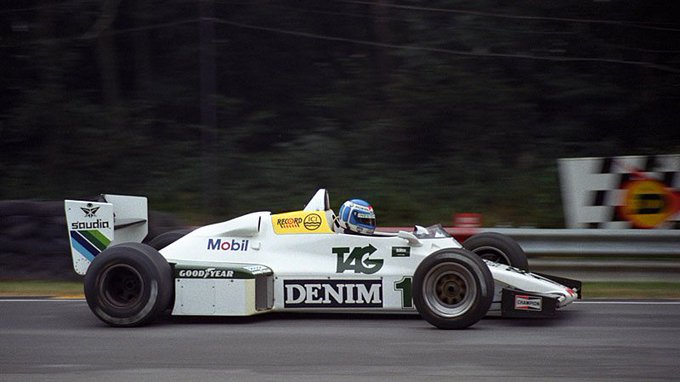 Happy Birthday Keke Rosberg - Williams FW08C, Brands Hatch 1983 (Photo:
