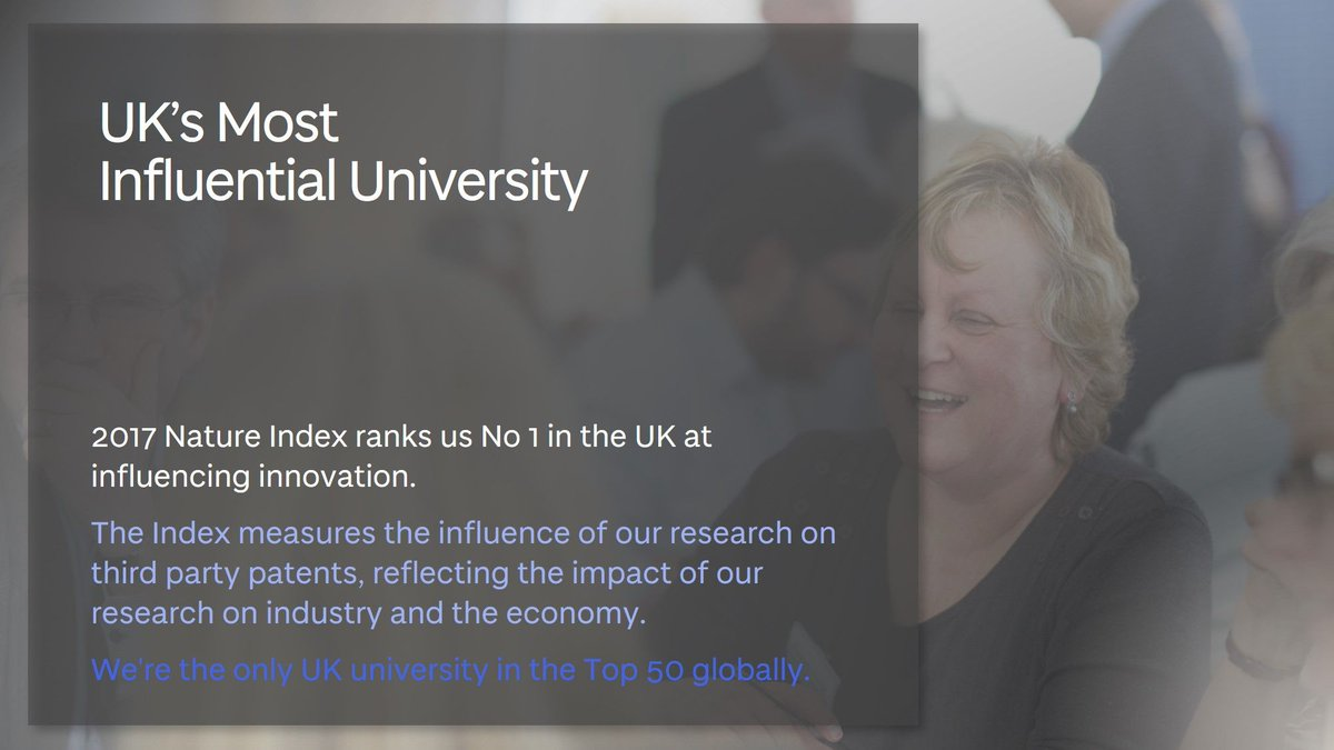 We&#39;re top in the UK when it comes to influencing third party patents. #researchwithimpact #mostinnovative  http:// uod.ac.uk/2zM1JmU  &nbsp;  <br>http://pic.twitter.com/j7nFVNcJVZ