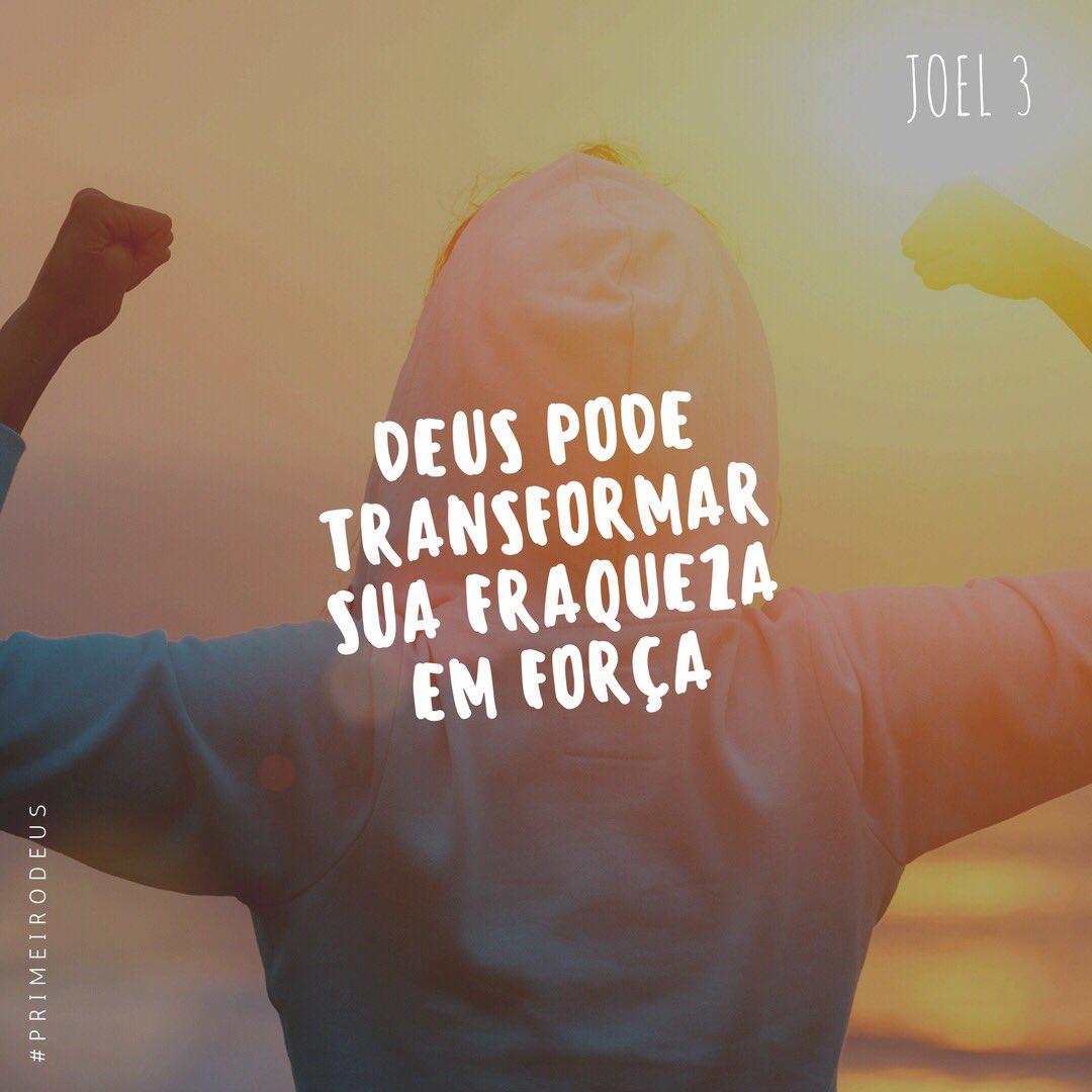 Deus pode transformar sua fraqueza em força