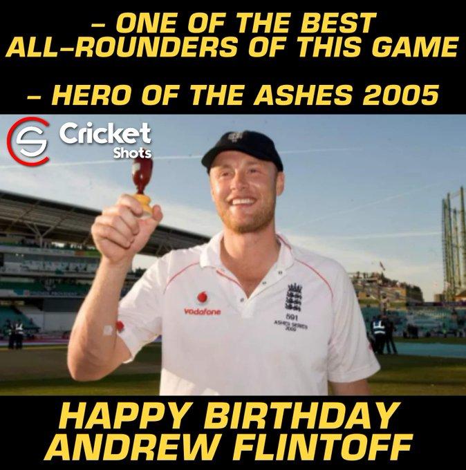 Happy Birthday, Andrew Flintoff!!