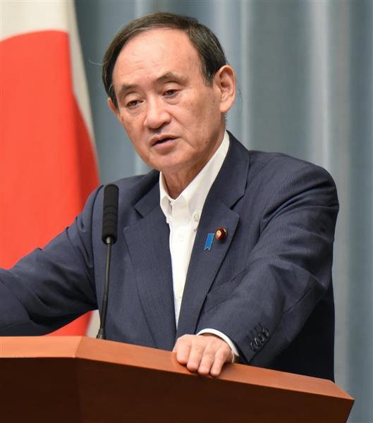 「敵基地攻撃」巡航ミサイル導入 菅義偉官房長官、明言避けるも「国民の命と暮らし守る検討を行う責務があ…