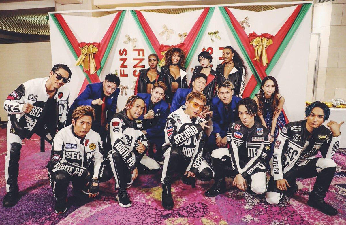 FNS歌謡祭🌙✨ EXILE THE SECONDの皆さんのコーラスとしてDEEPさんと参加させてい…