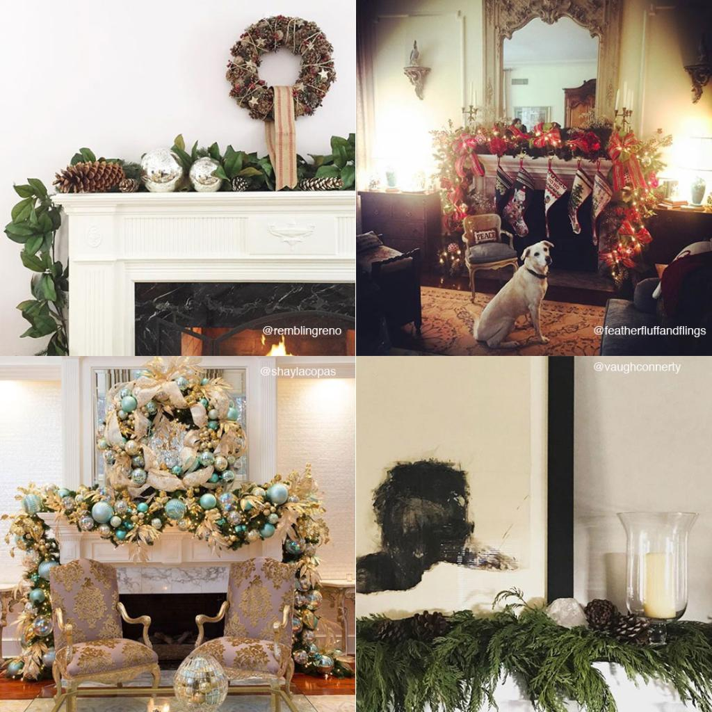 How are you dressing your mantel for the season? Share a picture with us on Instagram using #TradHomeMantel for the chance to be featured in our feed! >