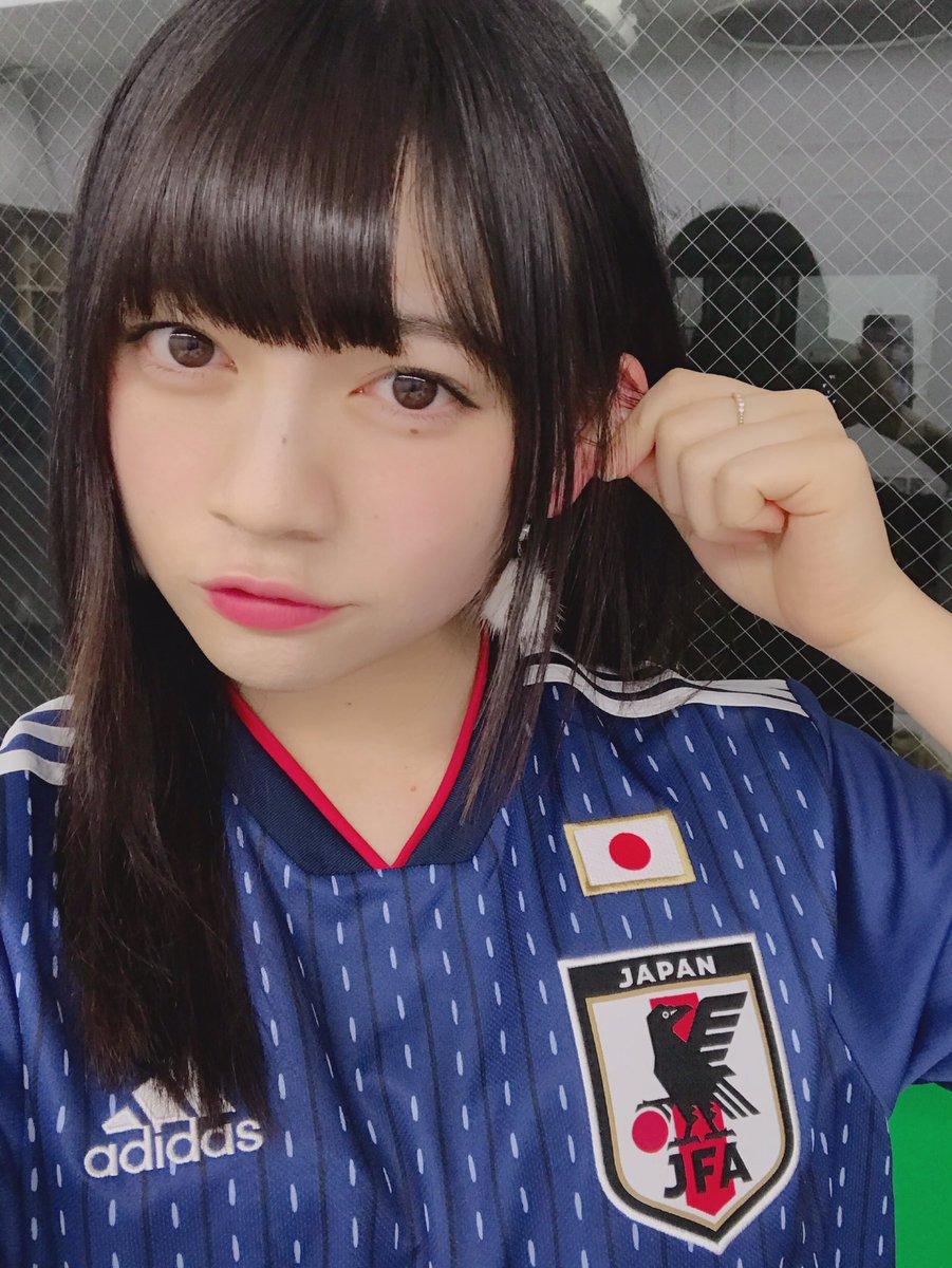日本代表ユニ 🇯🇵⚽ テンションあがる…!( ・ ̫・ ) おやすみなさい