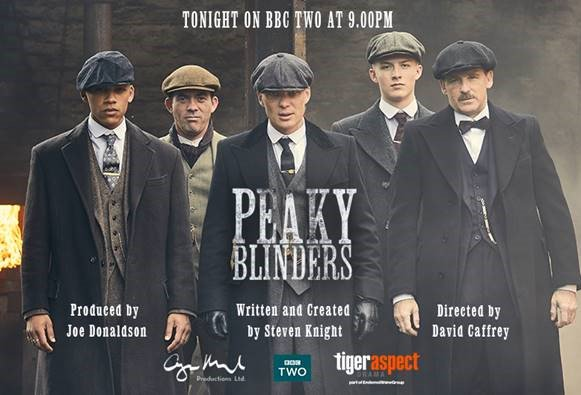 The boys mean business. #PeakyBlinders continues tonight at 9pm on @BBCTwo.