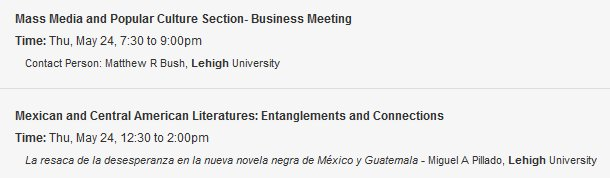 #ResearchSpotlight Two #LehighU professors will participate in @LASACONGRESS this year! #LASA2018 #LatinAmericanStudies<br>http://pic.twitter.com/etGDkIRVHQ