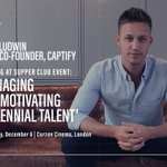 Challenging Simon Sinek's notion of millennials and lifting the lid on Captify's Futures Board initiative @adam_ludwin @thesupperclubuk #scaleup #thecaptifydiaries