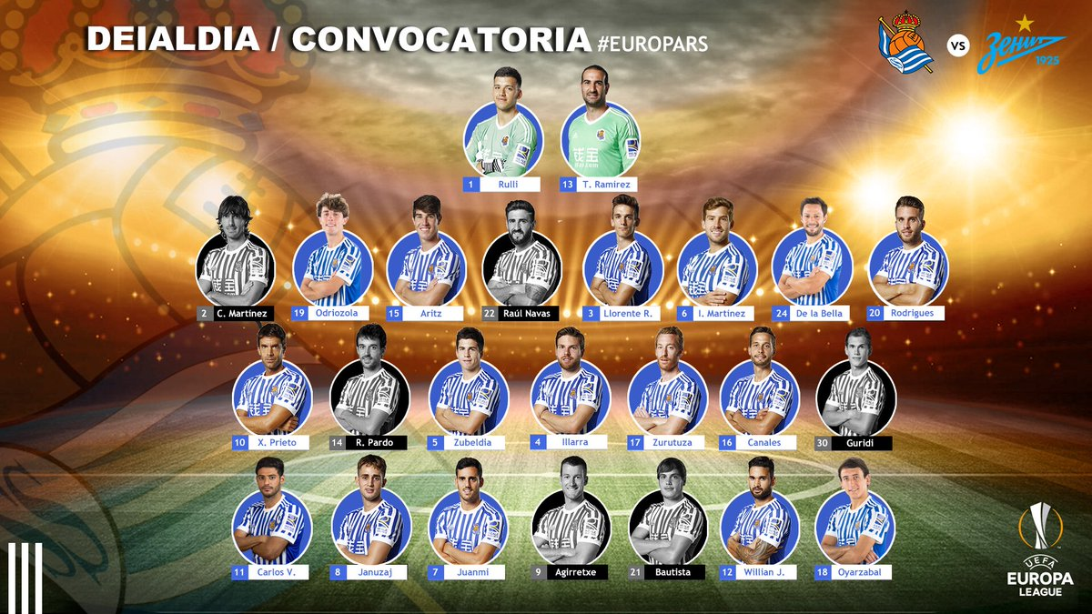 DQXNewhXkAAhWXF Navas, Bautista, Pardo y Carlos Martínez fuera de la lista para recibir al Zenit - Comunio-Biwenger