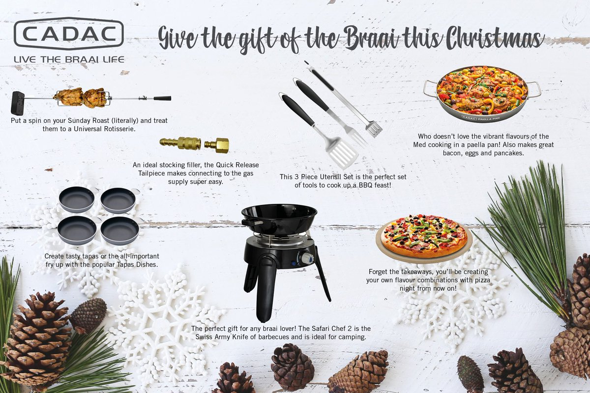 cadac uk on twitter looking for the perfect christmas gift look no further heres our top picks for the braai lovers christmasgifts presents bbq