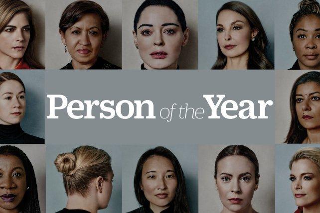 Persona dell'anno per @time è il movimento #metoo