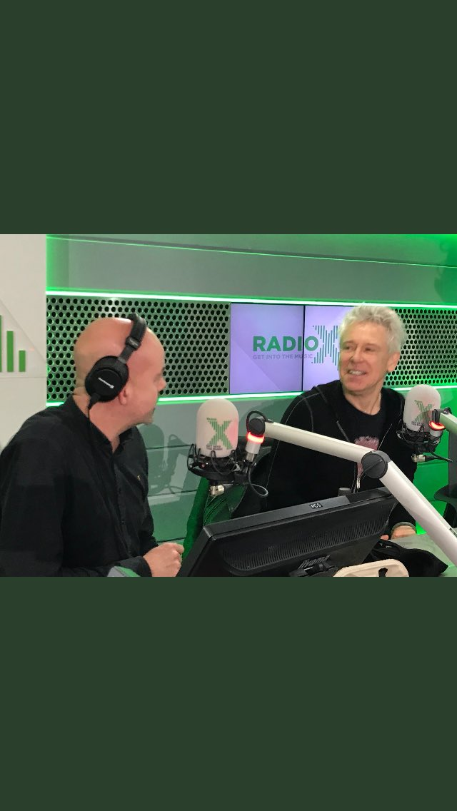 Great to see U2's Adam Clayton at @RadioX today. Such a genuine and lovely man. I love my job!! https://t.co/HEUlX0tlTL