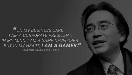 Happy Birthday Satoru Iwata, we miss you