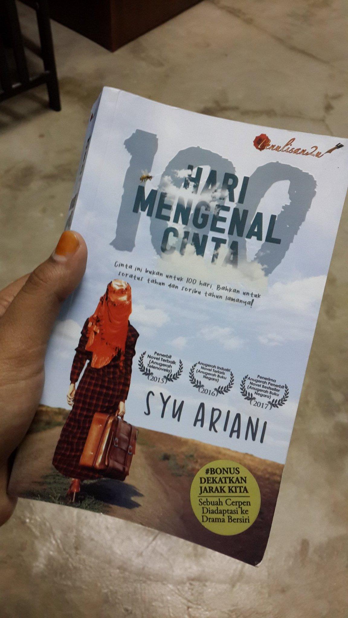 Nurfiqah On Twitter This Novel Dekatkanjarakkita