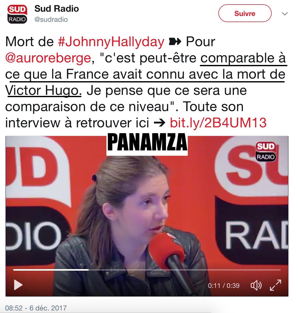 Médaille d'or du ridicule : la députée Aurore Bergé comparant la mort de Johnny Halliday à celle de Victor Hugo
