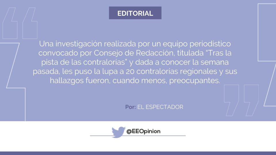 #EditorialEE Contralorías: ¿el ratón cui...