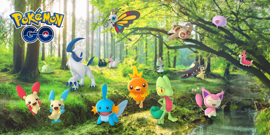 [Pokémon Generation 3 / Hoenn Region - Image by Pokémon]