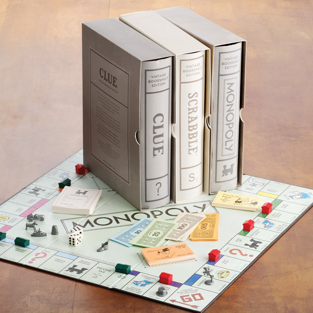 Bookshelf Edition Board Games When Youre Done Store Them As Stylish Linen Wrapped Books Shop Your Favorite At Googl D4sVD7 VonMaur