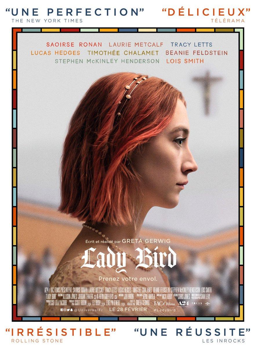 Affiche française du film LADY BIRD