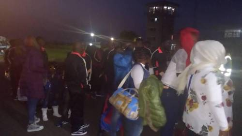 Stranded Nigerians that voluntarily returned from Libya at the Murtala Mohammed Airport in Lagos has risen to 401 after the arrival of 257 persons.