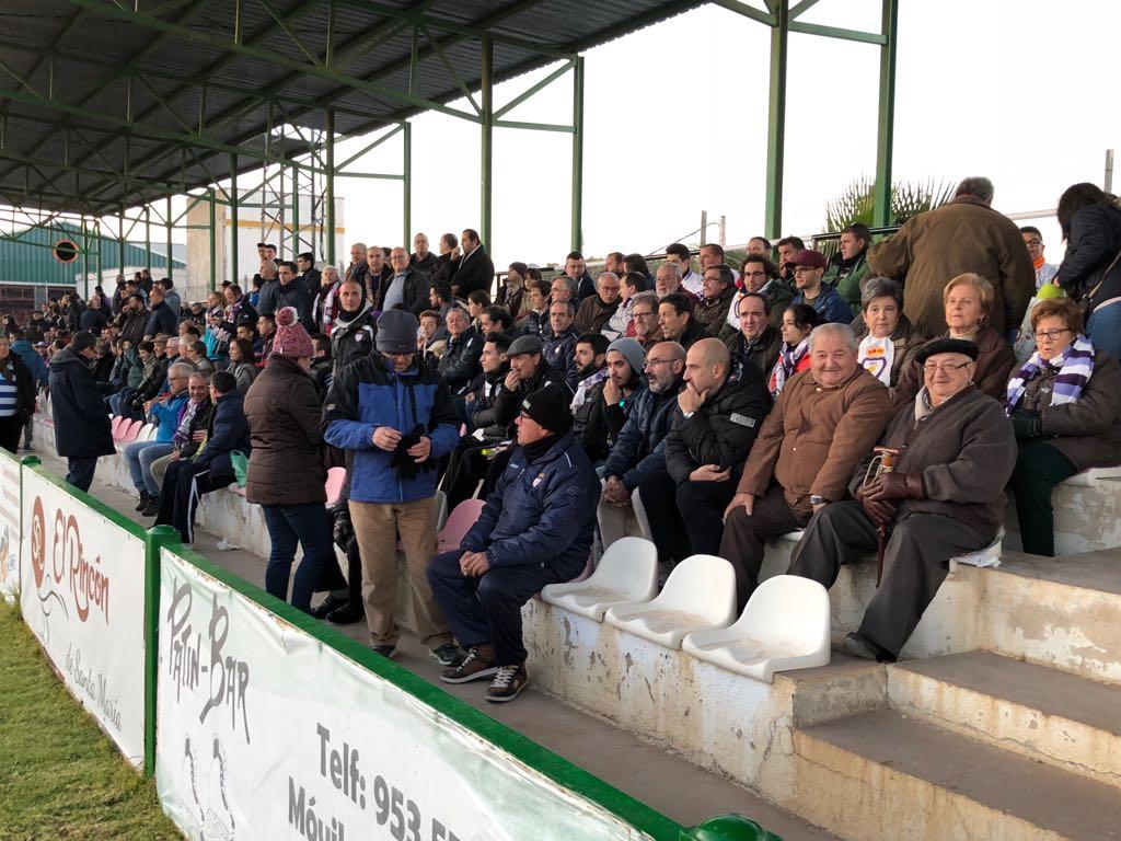 Afición del Real Jaén en el Estadio Matías Prats