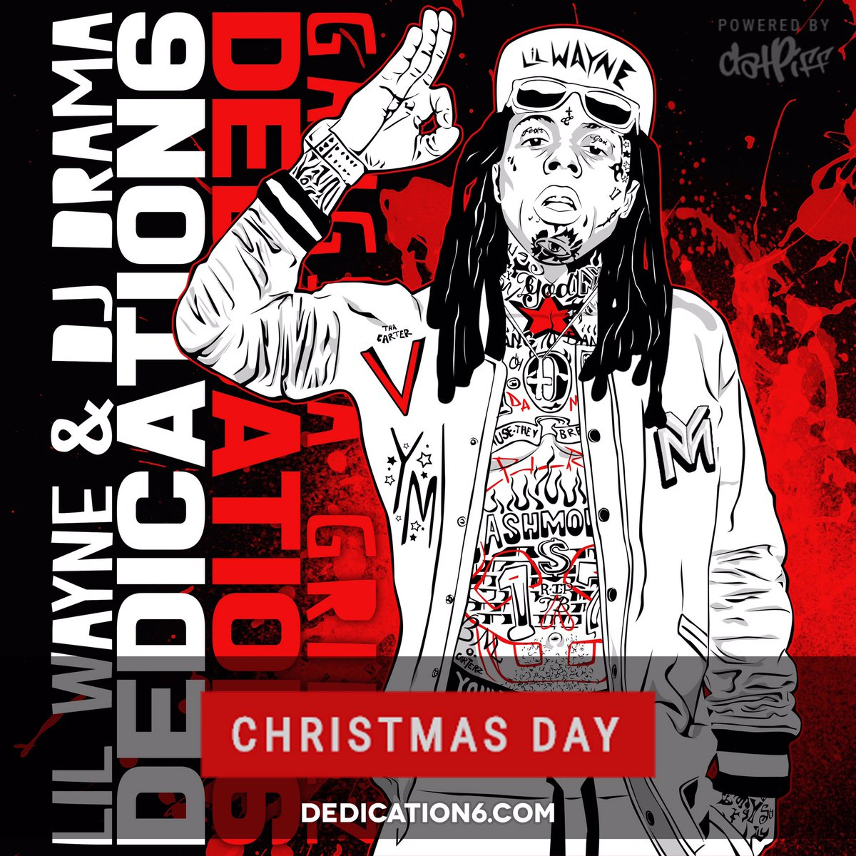 It's time! Sign up for updates and music before drop date! To My fans, I do this for y'all! #D6 MERRY CHRISTMAS