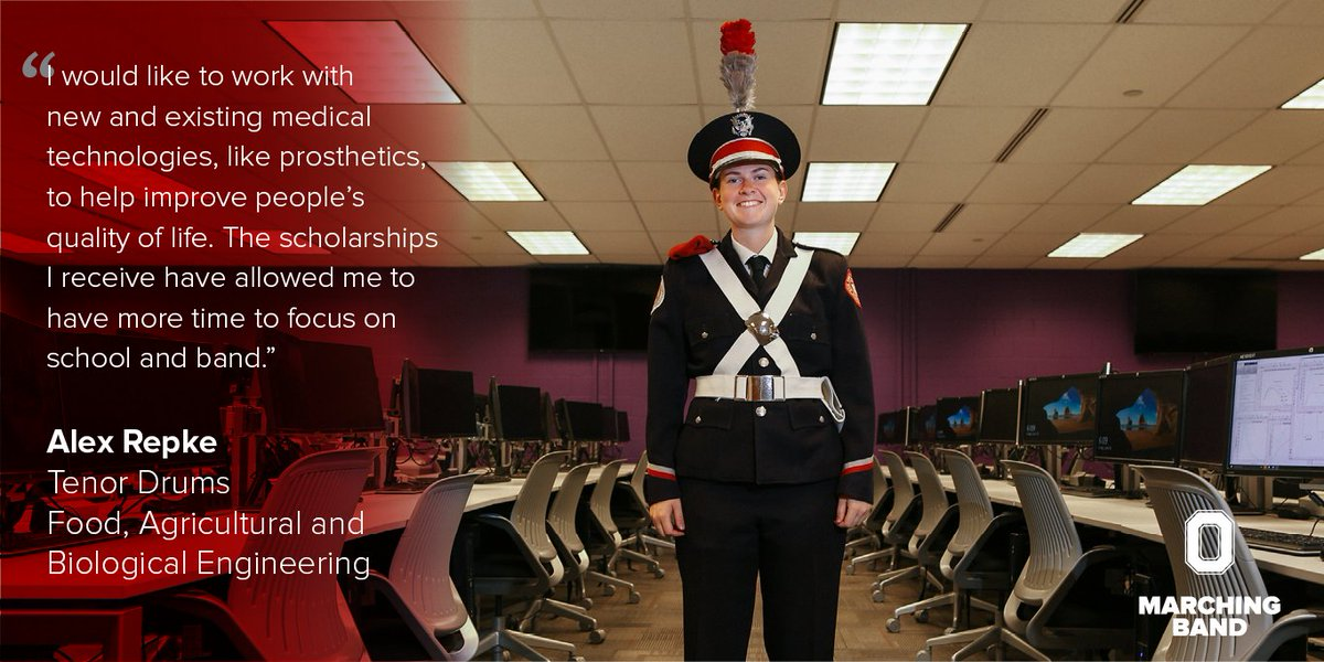 The Ohio State University Marching Band On Twitter With Support