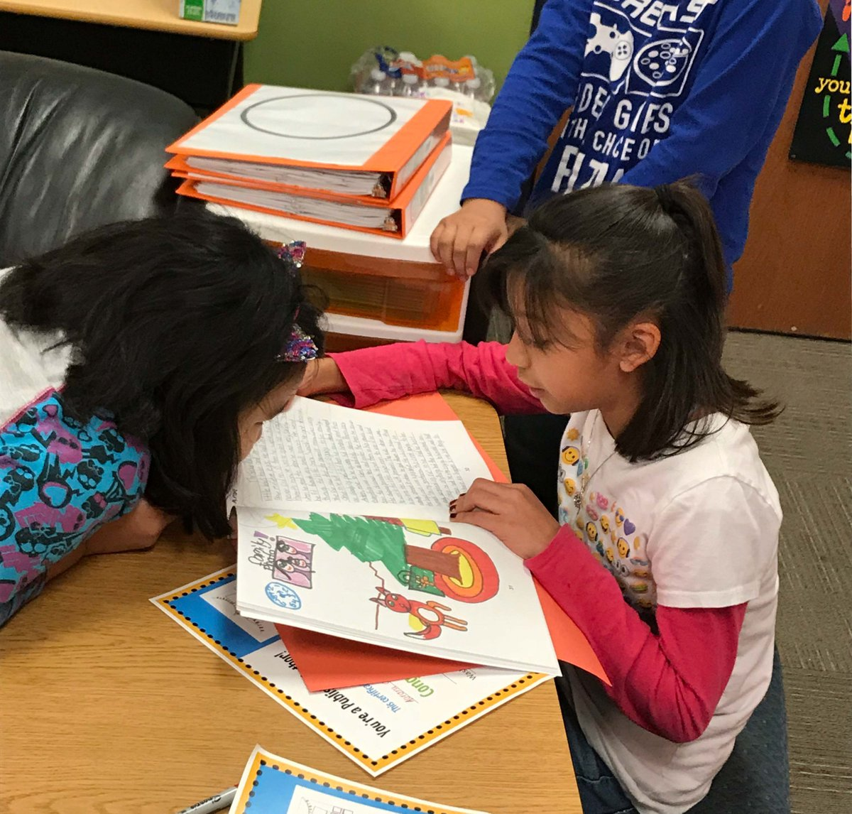 sharing stories is important for students