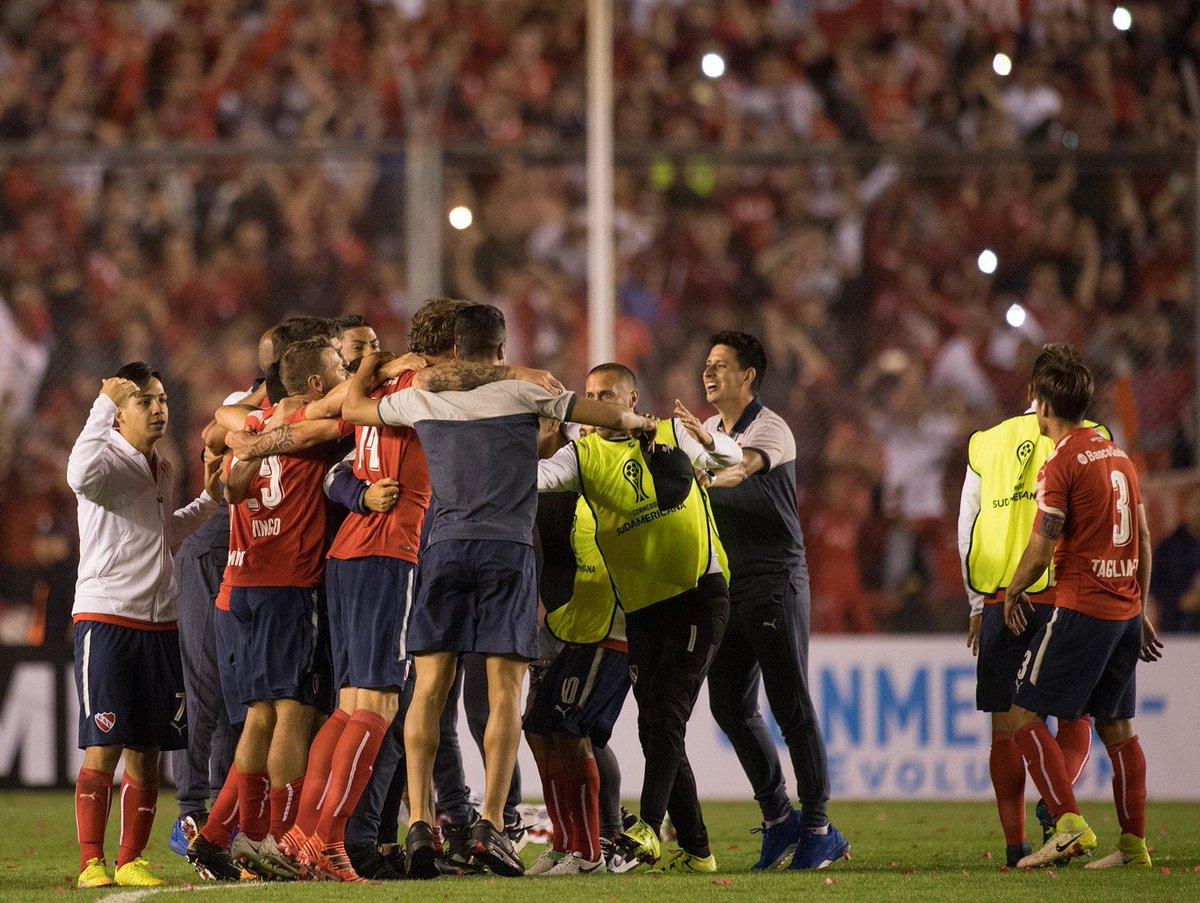 Veja orientação à torcida do @Independiente por 'maré vermelha' contra o @Flamengo  ↪️ https://t.co/BnGNRwoQle