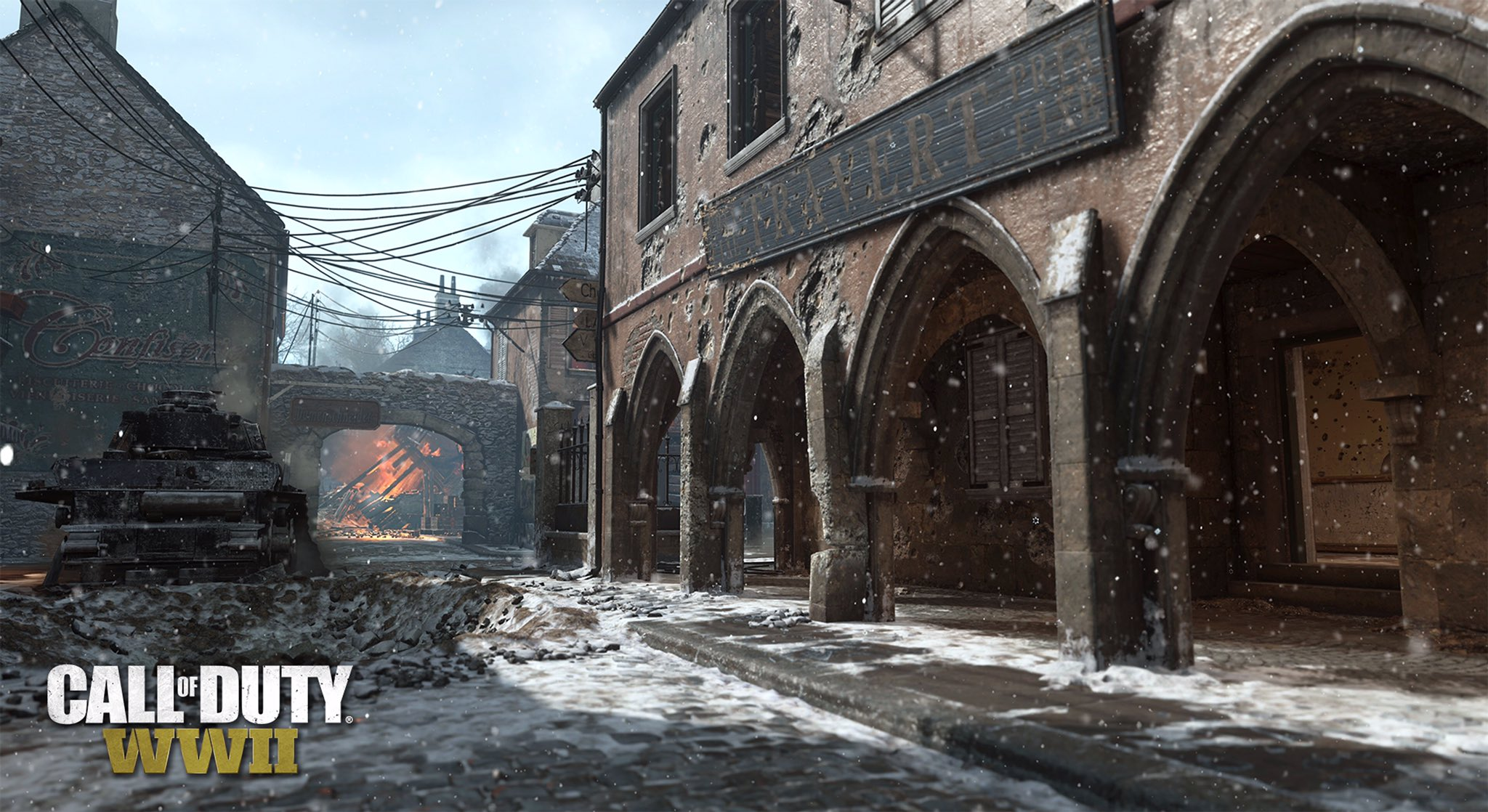 Winter Siege Event For 'Call Of Duty: WW2' Brings Back Gun Game