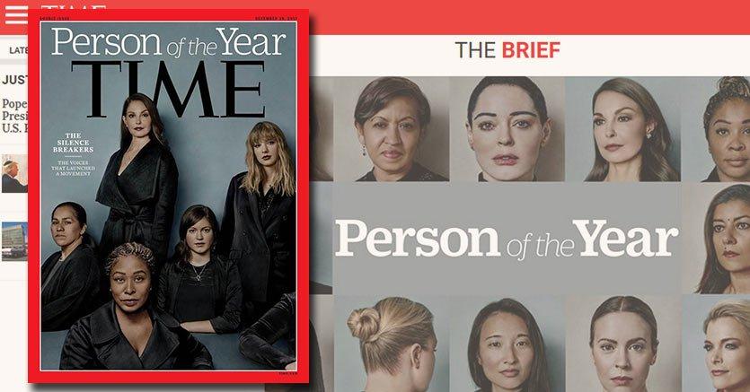 Time: il movimento #MeToo ècontro le molestie sessuali è la persona dell'anno https://t.co/PhLz7NniXd