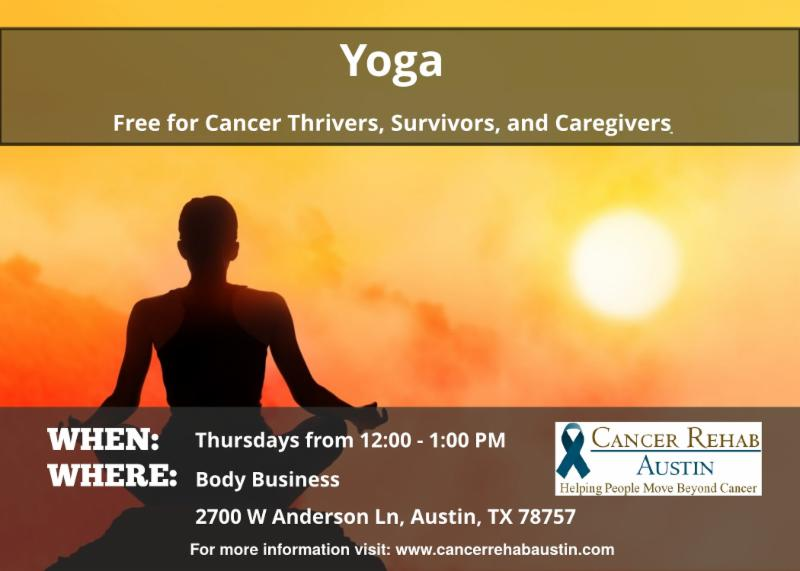 New exercise classes for cancer thrivers...