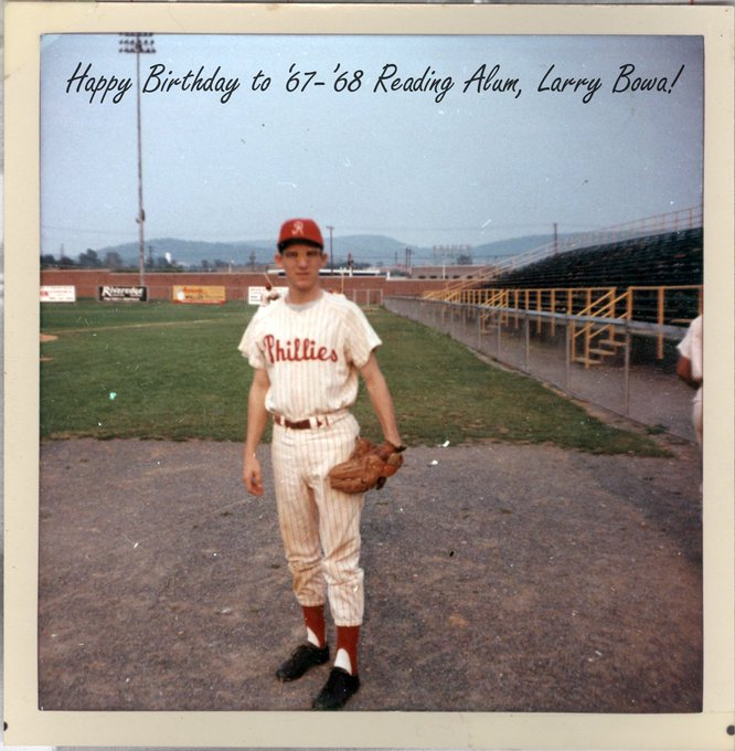 Happy Birthday to Reading Alum and Baseballtown Hall of Famer Larry Bowa